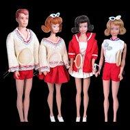 Alan and Midge Dolls - Friends of Barbie by Mattel