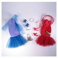 Vintage Gowns and Accessories for the 10 1/2 inch Dolls of the 1950's