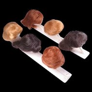 Vintage Barbie Wigs and Wig Stands by Mattel