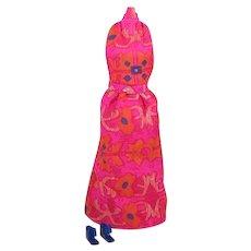 Best Buy Barbie Halter Dress Variation in Walk Lively Steffie Material by Mattel