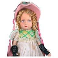 All Original and Complete Italian Lenci Doll
