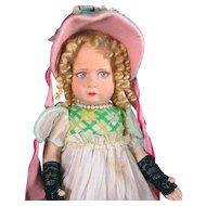 All Original and Complete Italian Lenci Doll