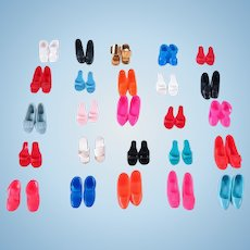 Vintage Barbie Japan Shoe Collection by Mattel