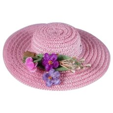 Vintage Alexander-Kins Wendy Hat by Madame Alexander