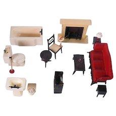 1950's Renwal Dollhouse Furniture
