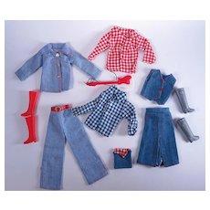 1970's Era Barbie Clone Clothing