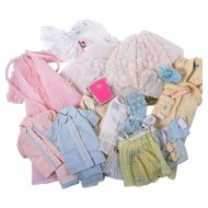 Vintage Barbie Lingerie and Sleepwear by Mattel