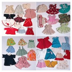 Vintage Clothing for 10 - 12 Inch Dolls