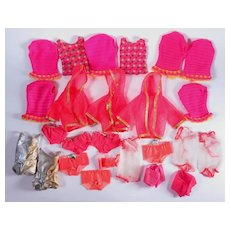 Mod Era Barbie Original Swimsuits by Mattel