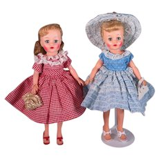"""Vintage Outfits for Little Miss Revlon and other 10 1/2"""" Dolls"""
