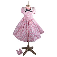1950's Factory Made Dress and Shoes for Madame Alexander Cissy