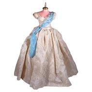 Hard to Find Madame Alexander Cissy Queen Elizabeth Gown from 1956