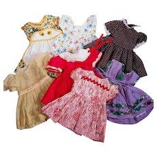 Vintage Dresses for Young Girl Dolls