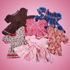 Vintage Dresses for Small Dolls