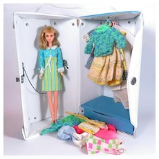 Mod Francie Case and Clothing by Mattel