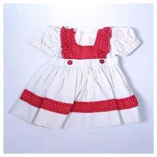 1950's Vintage Woven Cotton Dress
