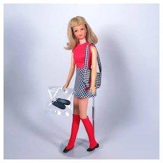 Mod Francie in VHTF Checker Chums #3278 by Mattel