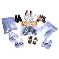 High Heel Fashion Doll Shoes