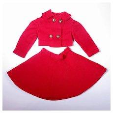 Two Piece Vintage Corduroy Suit