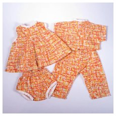 Vintage Sibling Matching Outfit Set