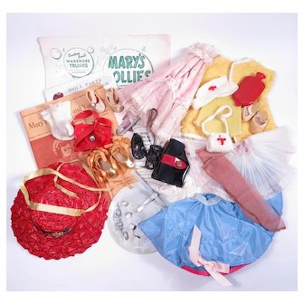 Mary Hoyer Doll Original Accessories Collection 1940's & 1950's