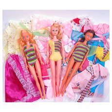 1980's Barbie Clones and Clothing