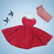 """Vintage Outfit for 10 1/2"""" High Heel Fashion Dolls"""