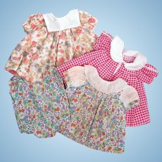 Vintage Dresses for Toddler Dolls