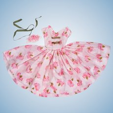 "DIY Vintage Silk Garden Party Dress for 20"" Fashion Dolls"
