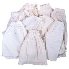 Vintage Slips and Pantaloons