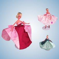 "Custom Order - Rare Bild Lilli Custom Made Gowns for the 7 1/2"" German Doll"