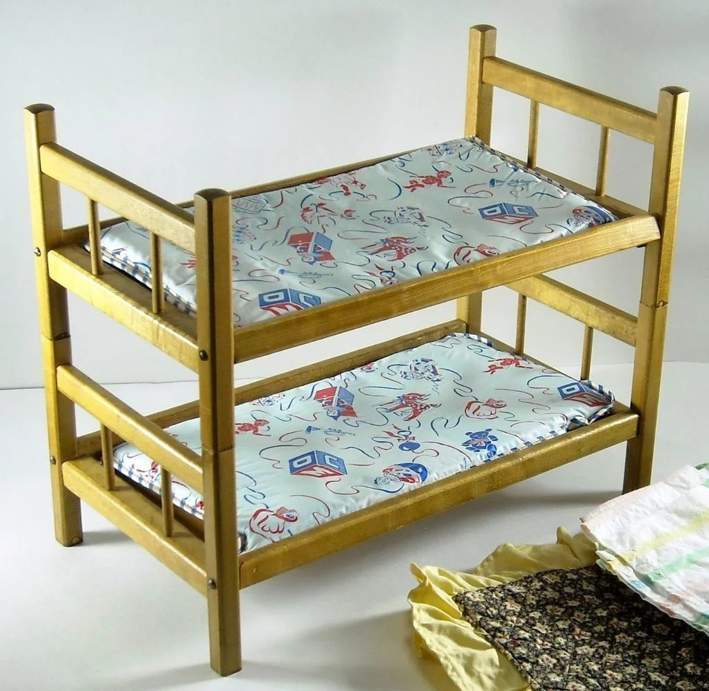 Vintage Doll Bunk Beds Quilts Bed Spreads And Sheets Dolls Of