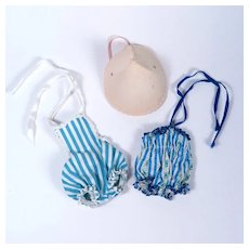 Alexander-Kins Original Swimsuits and Beach Hat