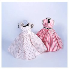 Two Original day Dresses for Jill by Vogue