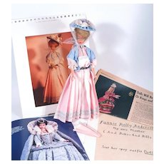 One of a Kind Vintage Creation by Barbie Artist Mrs. Staples as featured in Barbie Bazaar