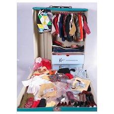 Vintage Mattel Ken Case & Clothing Excellent Condition