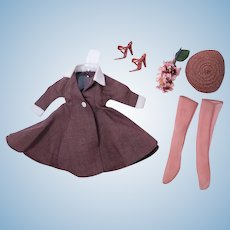 Very Hard to Find Little Miss Revlon Coat #9036 by Ideal