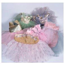 Vintage Ballet Tutus for Various Sized Dolls