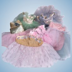Vintage Ballet Tutus for Various Sized Dolls
