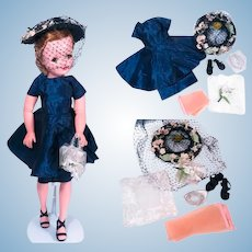 Complete Vintage Ensemble for Cissy by Madame Alexander
