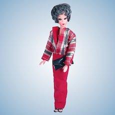 Vintage Bubblecut Barbie Clone in Evening Wear