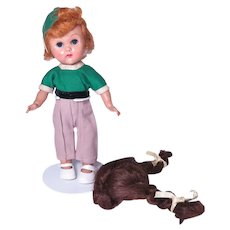 Vogue Ginny Doll with Replacement Wig for Repair