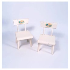 VHTF Betsy McCall  Chairs by Strombecker