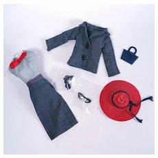 Uneeda Miss Suzette Original Suit and Accessories