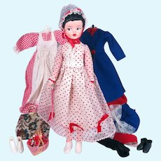 Canadian Reliable Mary Poppins with Complete Wardrobe