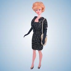 Vintage Handmade Cocktail Dress for Barbie