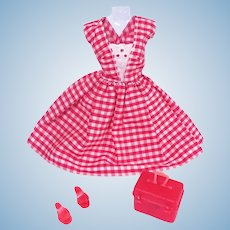 Vintage Day Dress and Accessories for Barbie