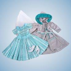 Little Miss Revlon Torso Dress & Raincoat Set
