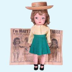 1950's Mary Jane Doll Terri Lee Look-a-like