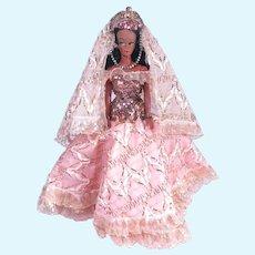 Costumed Black Barbie Uneeda Clone